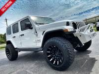 Used 2020 Jeep Wrangler Unlimited SAHARA WHITE-OUT CUSTOM LIFTED LEATHER NAV