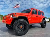 Used 2020 Jeep Wrangler Unlimited CUSTOM SAHARA LEATHER FAB FOUR DV8 OCD TURBO