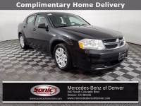 Pre-Owned 2014 Dodge Avenger SE Sedan in Denver