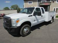 Used 2011 Ford F-350 4x4 Ex-Cab Service Utility Truck