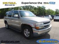 Used 2003 Chevrolet Tahoe For Sale in Jacksonville at Duval Acura   VIN: 1GNEC13Z23R194423