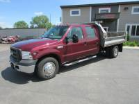Used 2005 Ford F-350 4x2 Crew-Cab Dump Truck