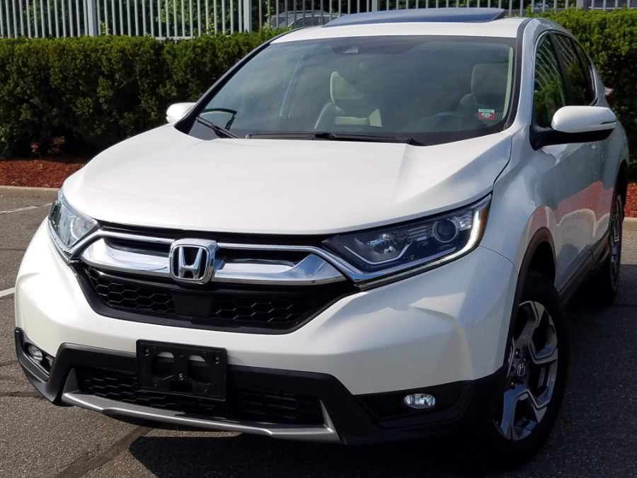 Photo 2018 HondaCR-V EX AWD wSunroof,Back-up Camera, Blind Spot And Lane Departure ,Brake Assist