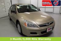 Used 2007 Honda Accord Sdn For Sale at Duncan's Hokie Honda | VIN: 1HGCM56107A040440