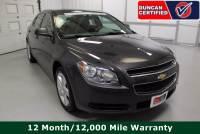Used 2012 Chevrolet Malibu For Sale at Duncan's Hokie Honda | VIN: 1G1ZB5E04CF296125