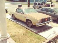 Oldsmobile cutlas