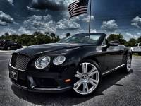 Used 2013 Bentley Continental GT V8 GTC BELUGA/BELUGA CARFAX CERT SERVICED