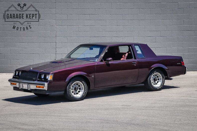 Photo 1987 Buick Regal T-Type