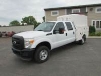 Used 2011 Ford F-350 4x4 Crew-Cab Utility Truck