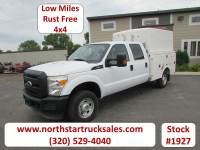 Used 2011 Ford F-350 4x4 Crew-Cab Service Utility Truck