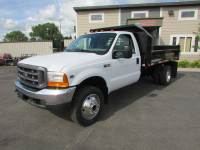 Used 2000 Ford Super Duty F-550 4x4 Contractor Dump Bed