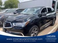 Certified 2017 Acura MDX V6 in Richmond VA