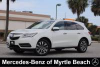 Used 2015 Acura MDX SUV For Sale in Myrtle Beach, South Carolina