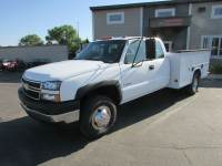 Used 2007 Chevrolet Chevrolet 3500 4x4 Ex-Cab Service Utility Truck