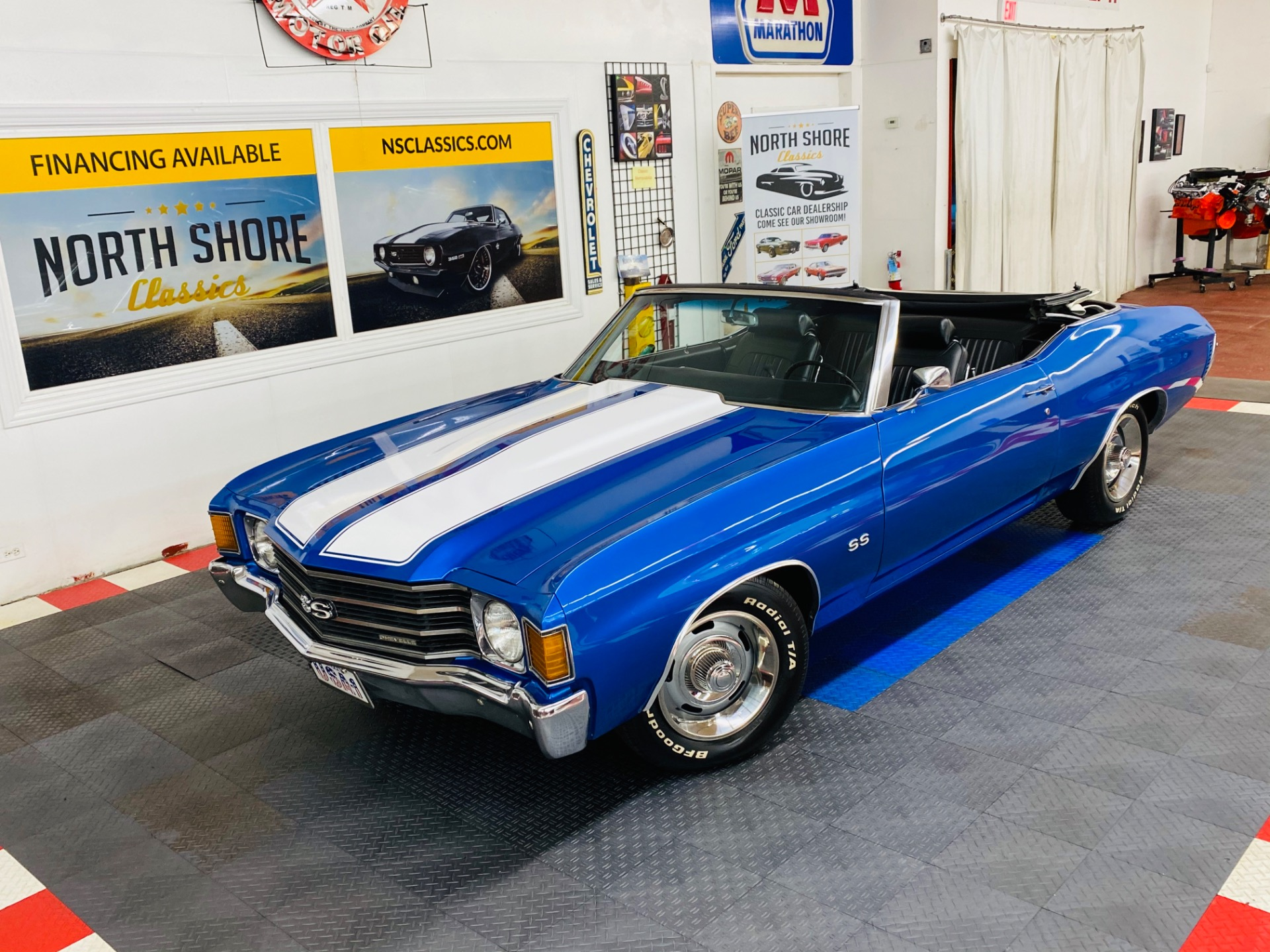Photo 1972 Chevrolet Chevelle -CONVERTIBLE - SS TRIBUTE - FLORIDA CAR - SEE VIDEO