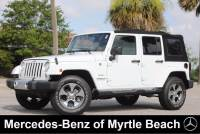 Used 2017 Jeep Wrangler JK Unlimited SUV For Sale in Myrtle Beach, South Carolina