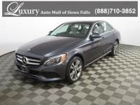 Certified Pre-Owned 2016 Mercedes-Benz C-Class C 300 4MATIC Sedan for Sale in Sioux Falls near Vermillion