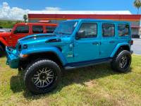 Used 2020 Jeep Wrangler Unlimited BIKINI CUSTOM SAHARA LIFTED HARDTOP NAV ALPINE