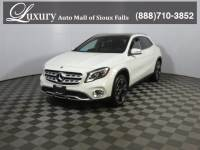 Certified Pre-Owned 2018 Mercedes-Benz GLA 250 4MATIC SUV for Sale in Sioux Falls near Vermillion