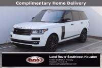 Used 2017 Land Rover Range Rover V8 Supercharged SWB in Houston