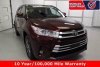 Used 2019 Toyota Highlander For Sale at Duncan's Hokie Honda | VIN: 5TDJZRFH8KS722358