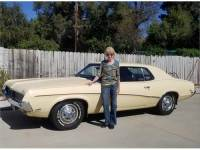 clean 1969 mercury cougar