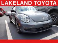 Pre-Owned 2014 Volkswagen Beetle Convertible 1.8T w/Tech