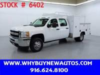 2013 Chevrolet Silverado 3500HD Utility ~ Crew Cab ~ Only 52K Miles!