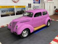 1937 Ford Tudor Sedan - OLD SCHOOL STREET ROD - FLATHEAD V8 - MANUAL TRANS -