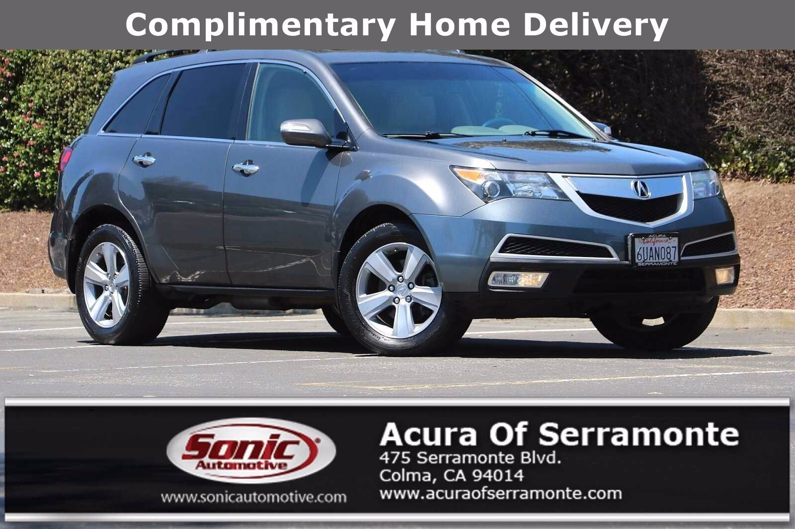 Photo Used 2012 Acura MDX 3.7L Technology Package For Sale in Colma CA  Stock TCH525272  San Francisco Bay Area
