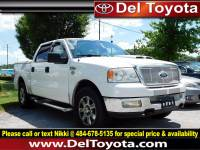 Used 2005 Ford F-150 Lariat For Sale in Thorndale, PA   Near West Chester, Malvern, Coatesville, & Downingtown, PA   VIN: 1FTPW14595FB04256