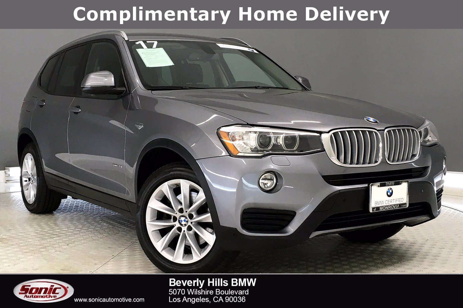 Photo Pre-Owned 2017 BMW X3 SAV in Los Angeles, CA