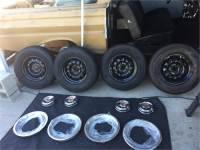 "68 69 Ford GT 14"" wheels"