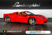 Used 2013 Ferrari 458 Italia Spider For Sale Richardson,TX | Stock# LT1368 VIN: ZFF68NHA5D0194013