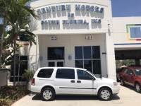 2008 Chevrolet Uplander Cargo Van Cargo Van Vinyl Floor Dual Sliding Rear Doors Clean CarFax