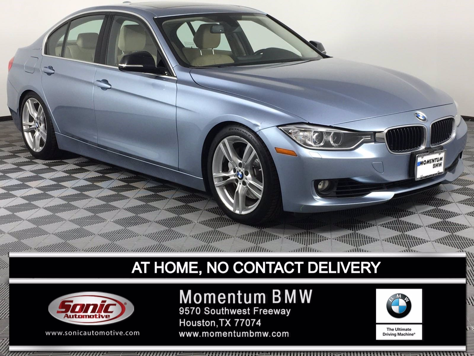 Photo Pre-Owned 2014 BMW ActiveHybrid 3 Sedan in Houston, TX