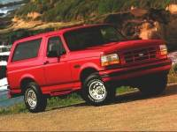 Used 1996 Ford Bronco For Sale at Huber Automotive | VIN: 1FMEU15H1TLB08656