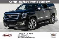 Certified Pre-Owned 2018 Cadillac Escalade ESV 4WD Premium Luxury VIN1GYS4JKJ3JR172524 Stock NumberBJR172524