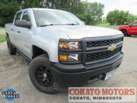 Pre-Owned 2014 Chevrolet Silverado 1500 Crew Cab Short Box 4-Wheel Drive Work Truck w/1WT