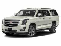 White Used 2017 Cadillac Escalade ESV 4WD 4dr Luxury For Sale in Moline IL | P20163