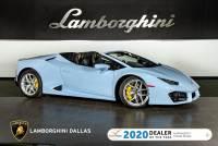 Used 2019 Lamborghini Huracan LP580-2 Spyder For Sale Richardson,TX | Stock# L1267 VIN: ZHWUR2ZF0KLA12574