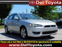 Used 2008 Mitsubishi Lancer DE For Sale in Thorndale, PA | Near West Chester, Malvern, Coatesville, & Downingtown, PA | VIN: JA3AU26U38U036900