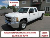 Used 2010 Chevrolet 2500HD 4x4 Ext-Cab Long Box Pickup