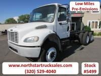 Used 2004 Freightliner M-2 CAT Tandem Axle Cab Chassis