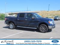 2014 Ford F-150 XLT Truck SuperCrew Cab V-8 cyl