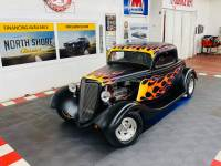 1934 FORD Hot Rod / Street Rod -OLD SCHOOL STREET ROD - VERY RELIABLE - CUSTOM FLAMES - SEE VIDEO