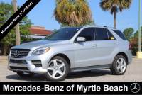 Used 2015 Mercedes-Benz M-Class SUV For Sale in Myrtle Beach, South Carolina