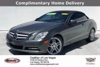 Pre-Owned 2012 Mercedes-Benz E-Class E 350 Cabriolet VINWDDKK5KF6CF160120 Stock NumberTCF160120