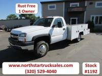 Used 2005 Chevrolet 3500 4x2 Reg Cab Service Utility Truck
