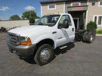 Used 2001 Ford F-550 4x2 7.3 Diesel Cab Chassis